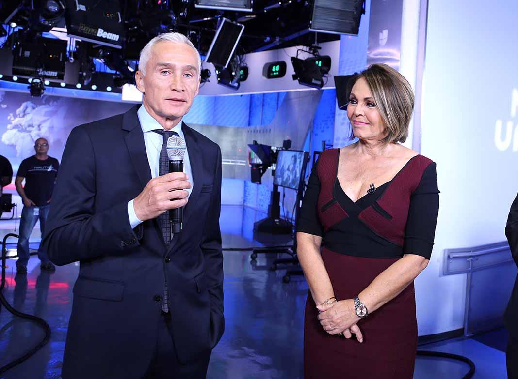 Jorge Salinas, el día que María Elena se despidió de Univision