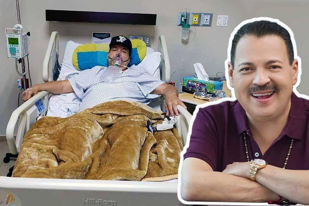 Julio Preciado se encuentra internado en terapia intermedia