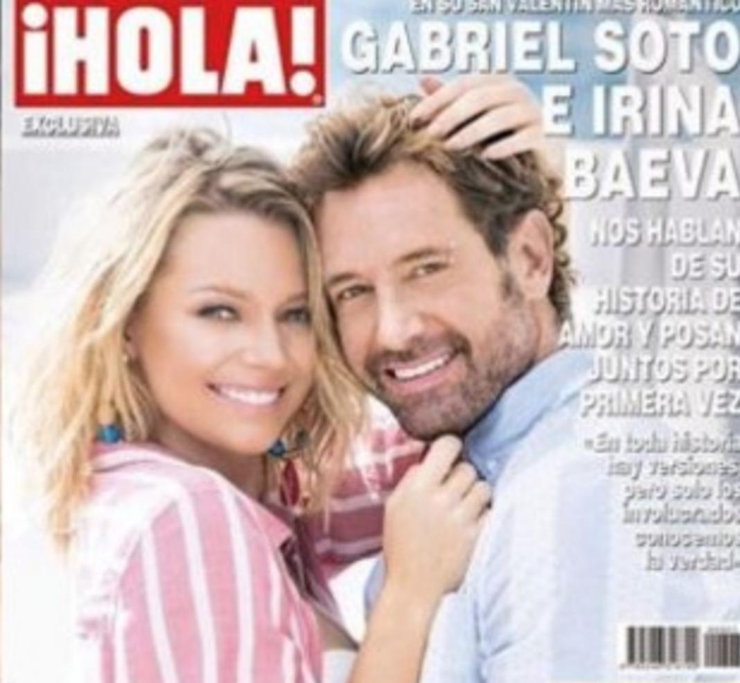 Irina y Gabriel Soto en la portada de la revista Hola habrían desatado todo este escándalo