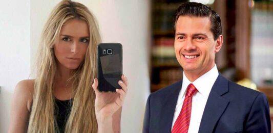 Peña Nieto y la modelo fueron captados juntos en España