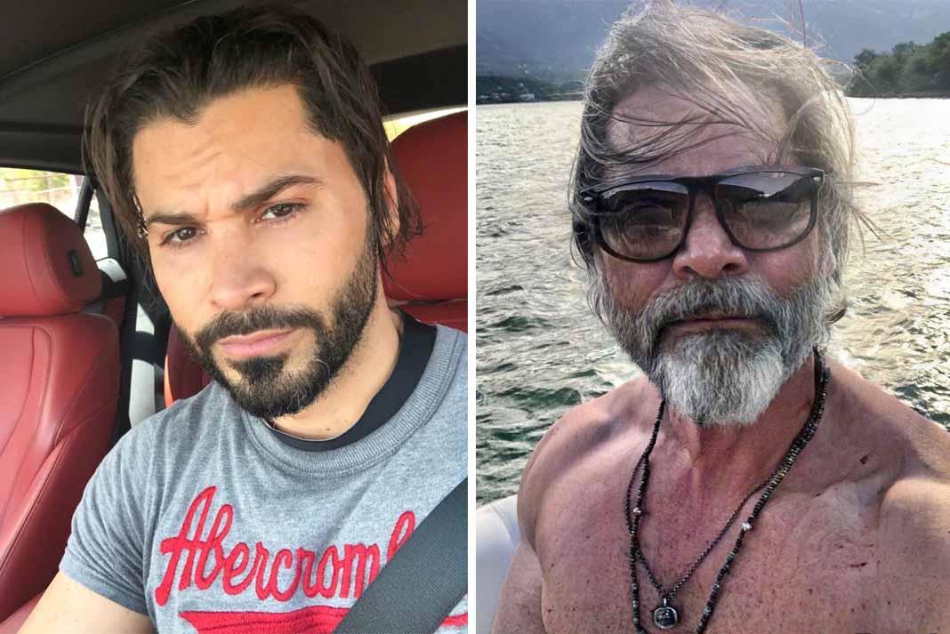 """Eliseo Robles Jr., La Leyenda, escribió en su post: """"Viejo lobo de mar!"""". Fotos: Instagram / eliseoroblesjr"""