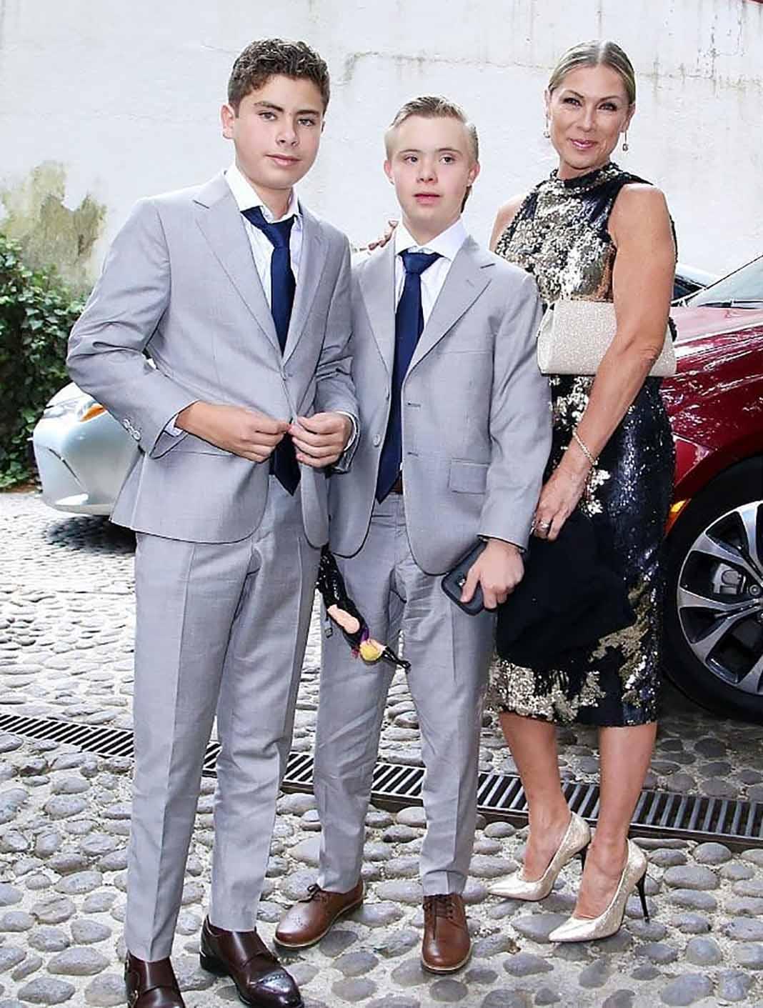 Lety Calderón tiene a Carlos y Luciano, frutos de la relación de la actriz con Juan Collado
