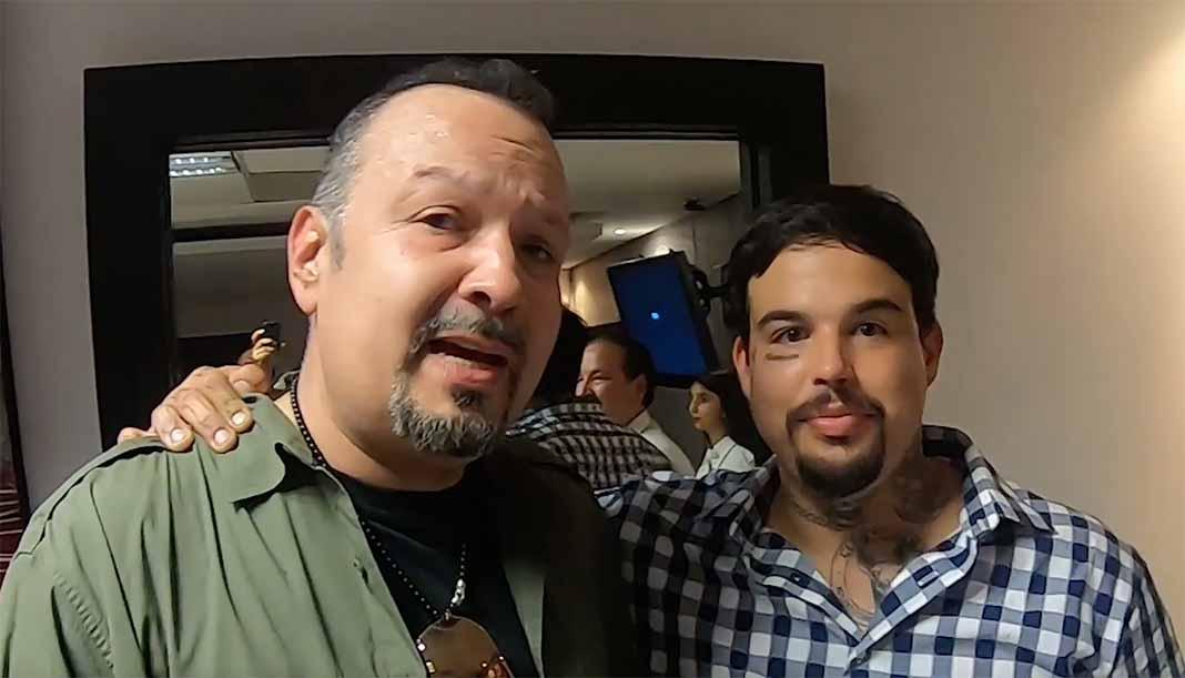 Pepe Aguilar mostró en su canal de YouTube que su hijo Emiliano se ha vuelto a reintegrar a la familia