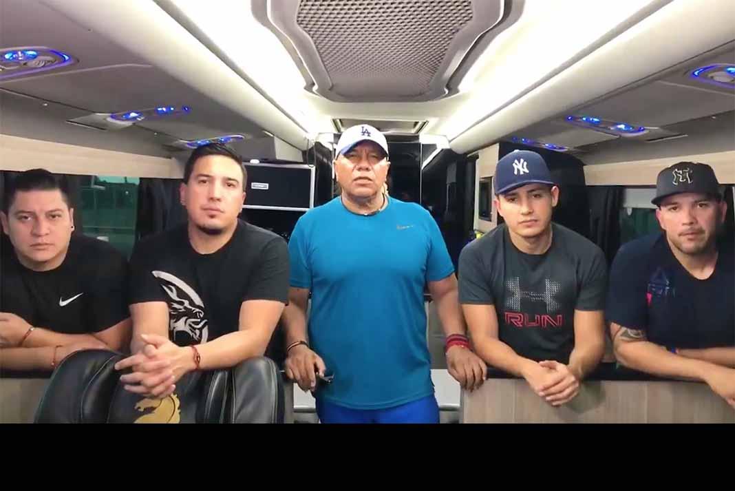 Lupe Esparza y los integrantes de Bronco informaron que se encuentran bien