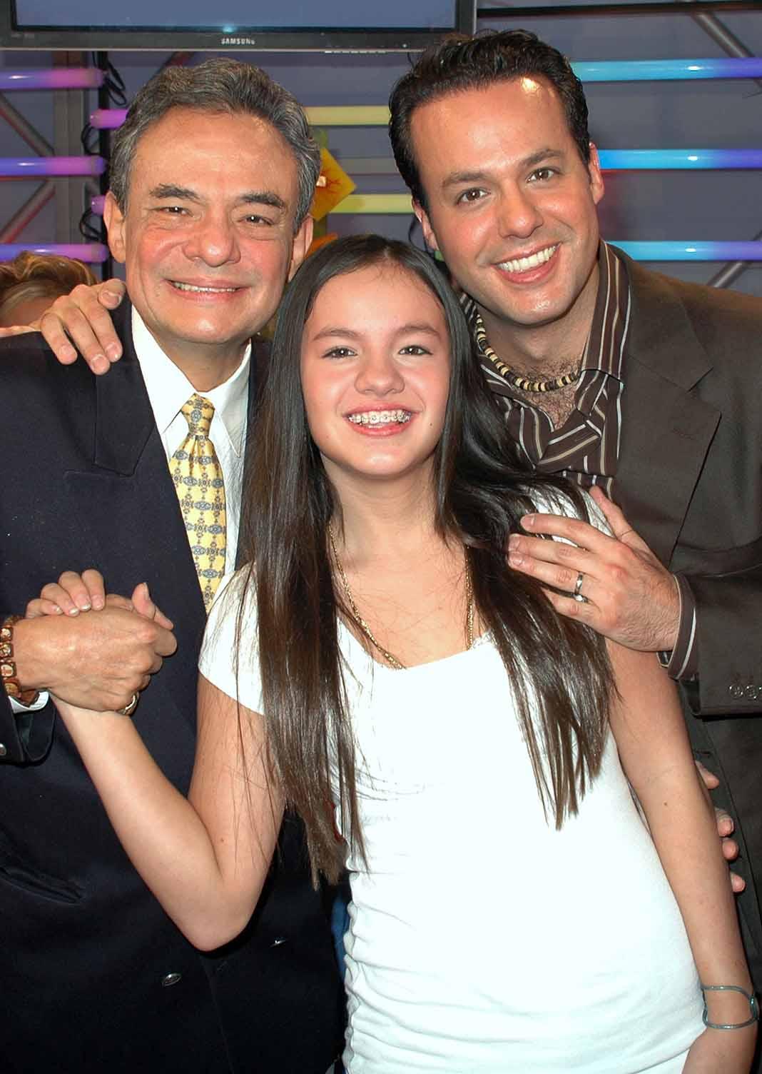 Cuando todo era armonía: José José y sus hijos Sarita y José Joel