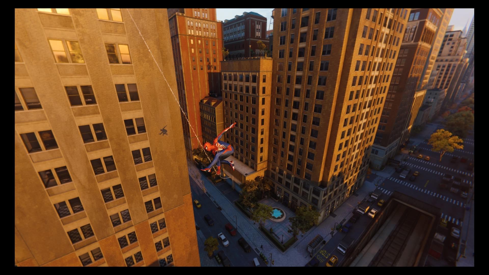 Spider-Man Webswinging