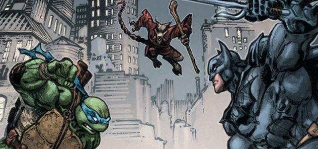 Batman Leonardo Splinter
