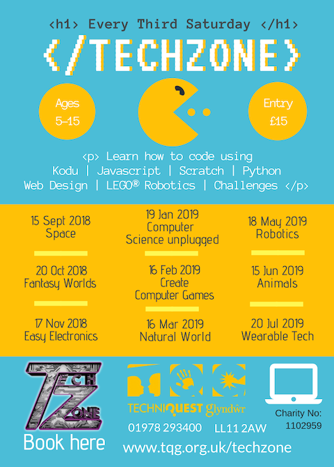 Techzone, Glyndwr – Wearable Tech