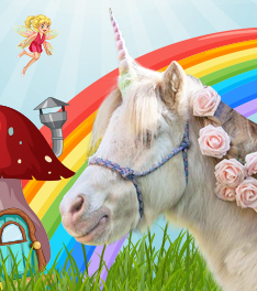 Mythical Unicorn Trail at the Ironworks Centre
