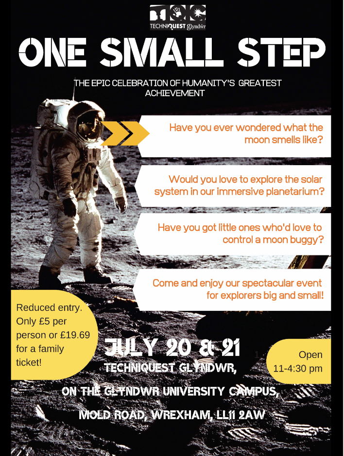 One Small Step – Techniquest