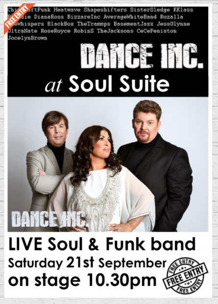 Dance Inc. at Soul Suite