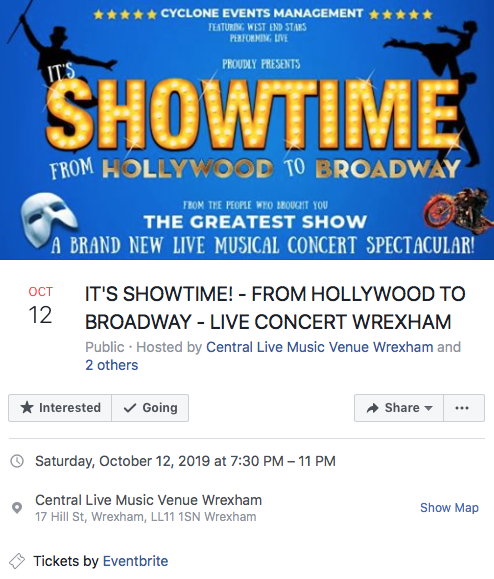 Showtime – From Holywood to Broadway