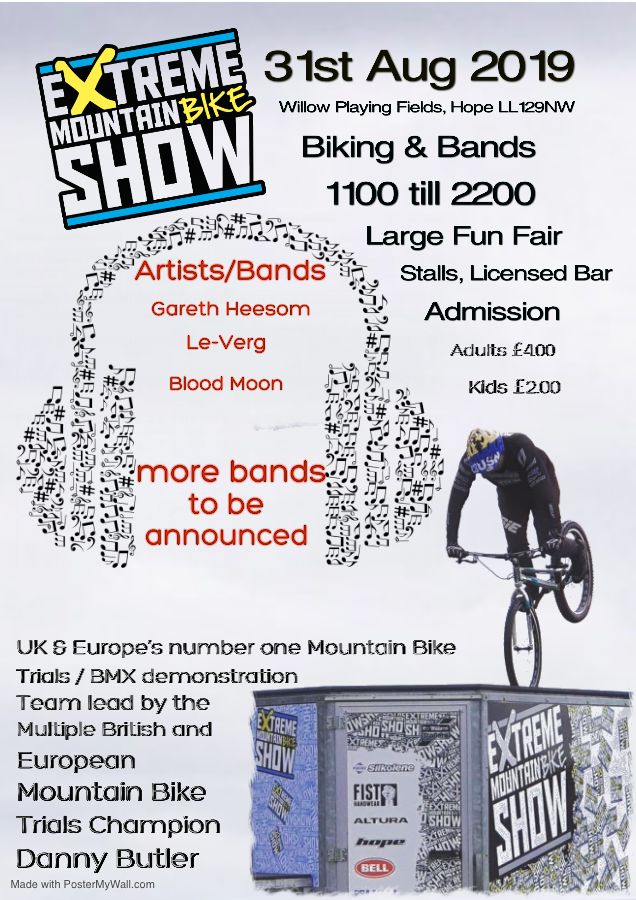 Extreme Mountain Bike Show – Hope.