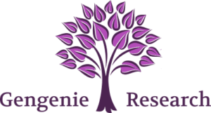 Family history research genealogists logo