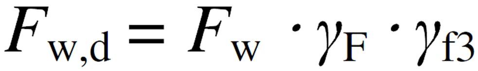 Design Wind Force Equation