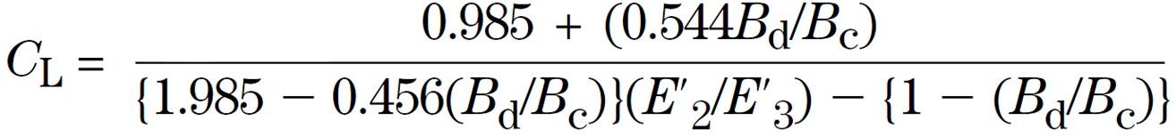Leonhardt's Coefficient