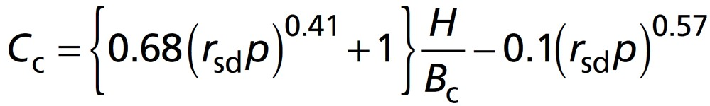 Plane of Equal Settlement Equation2