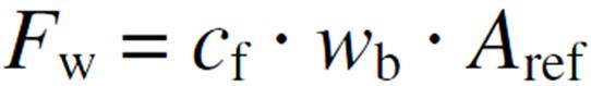 Total Wind Force Equation