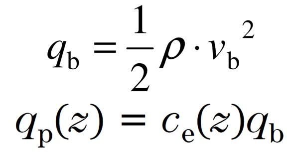Wind Pressure Equations