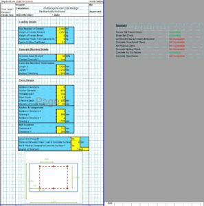 Anchorage to Concrete Design Spreadsheet7