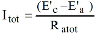 Anode Current Equation