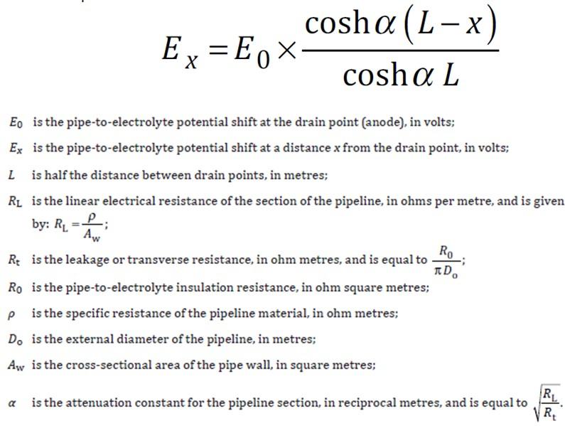 Attenuation Formula
