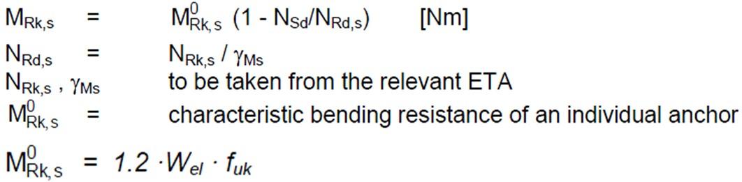 Bending Resistance