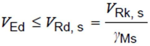 Steel Bolt Failure – Shear-Design Verification Calculations