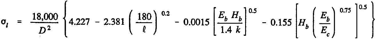 AASHTO Rigid Pavement Design Spreadsheet - Mid Slab Tensile Stress Equation1