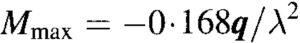 Hetenyi Method - Maximum Possible Moment Equation