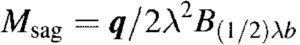 Hetenyi Method - Maximum Sagging Moment Equation
