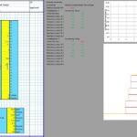 Stone Masonry Retaining Wall Design Spreadsheet 1