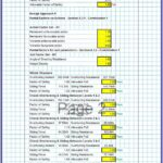 Stone Masonry Retaining Wall Design Spreadsheet 2