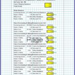Stone Masonry Retaining Wall Design Spreadsheet 3