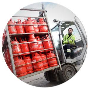 Albion Gas Forklift FLT