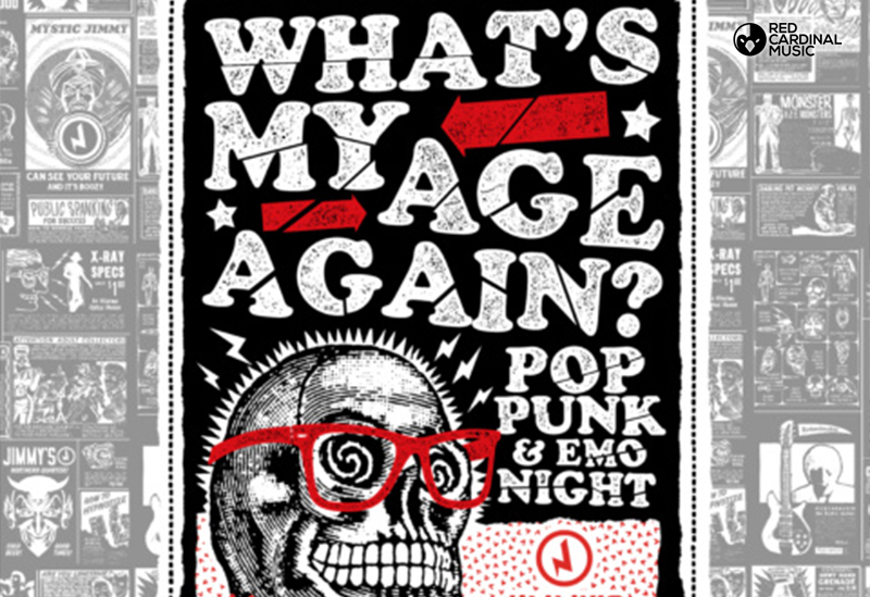 What's My Age Again Jimmy's Manchester Pop Punk Emo Deadbolt