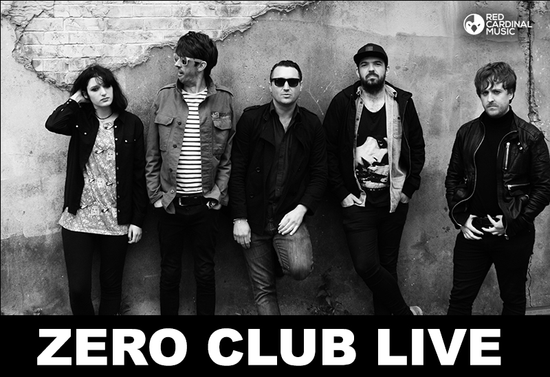 Zero Club Live August 2017 Zombie Shack Manchester Altar Flowers, Garsoons, Happy Animal Red Cardinal Music