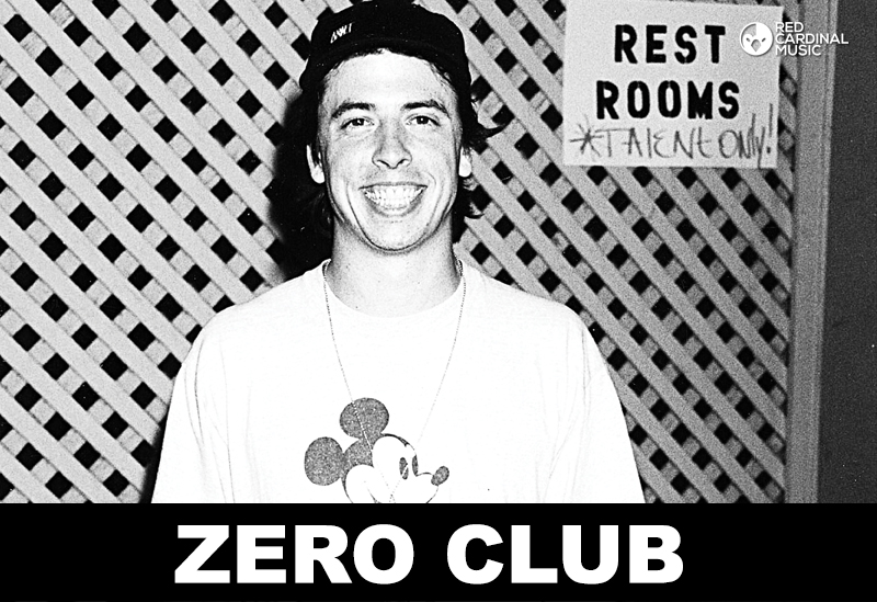 Zero Club September 2017 Dave Grohl Special - Official Deadbolt Festival Afterparty - Zombie Shack Manchester - Grunge 90s alternative riot grrrl geek rock - red cardinal music