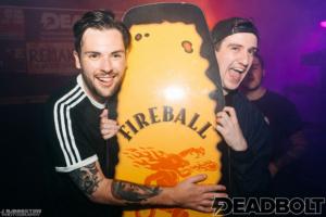 Deadbolt Manchester Fireball Whisky Giveaway - Red Cardinal Music
