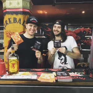 Fireball Whisky Stall - Red Cardinal Music
