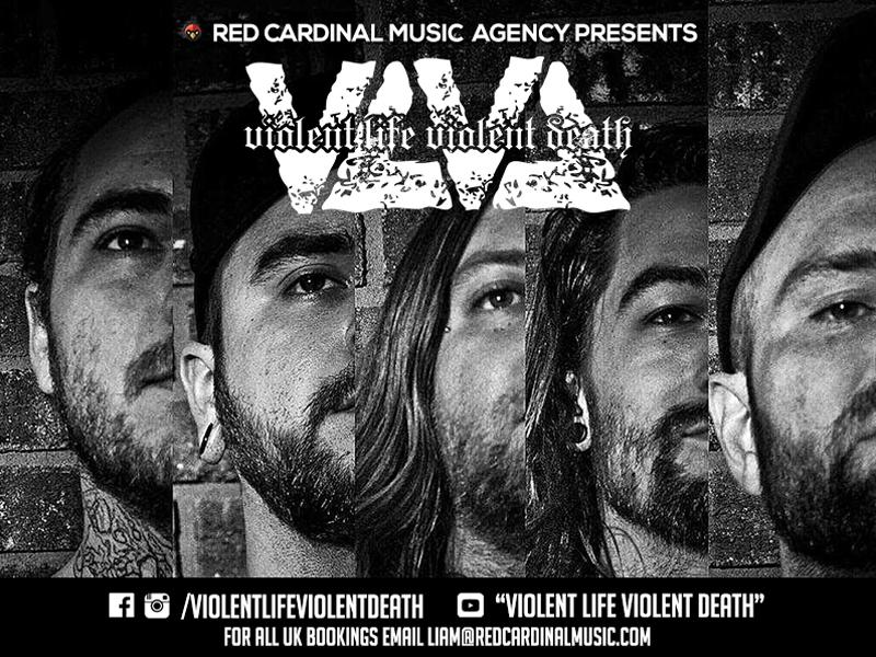 Violent Life Violent Death join Red Cardinal Music