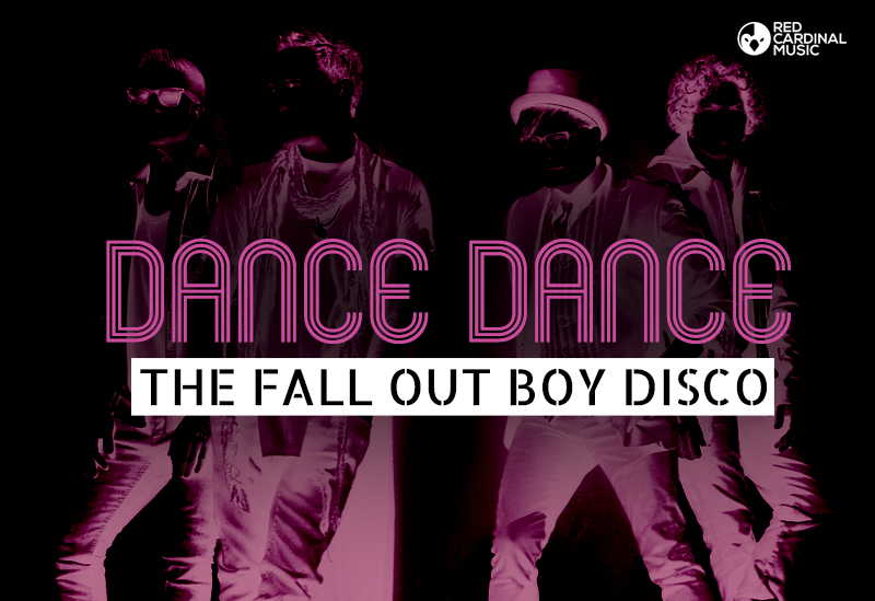 Deadbolt Dance Dance Fall Out Boy Disco - Red Cardinal Music