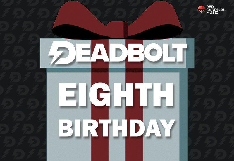 Deadbolt 8th Birthday - Night People - Red Cardinal Music