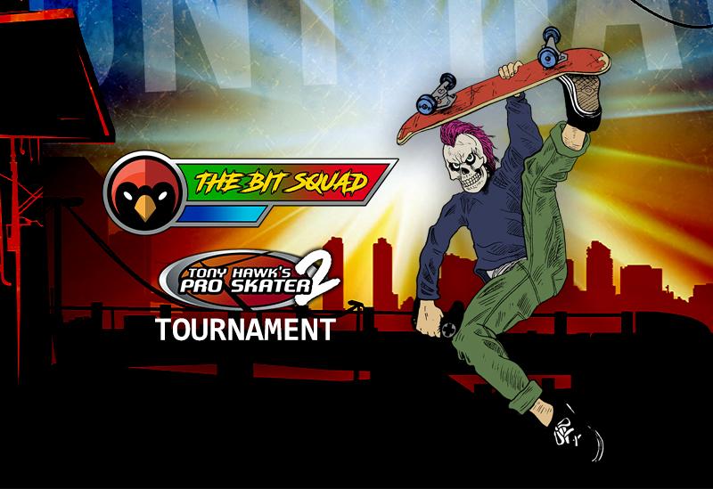 The Bit Squad Tony Hawk's 2 Pro Skater Gaming Tournament - Red Cardinal Music