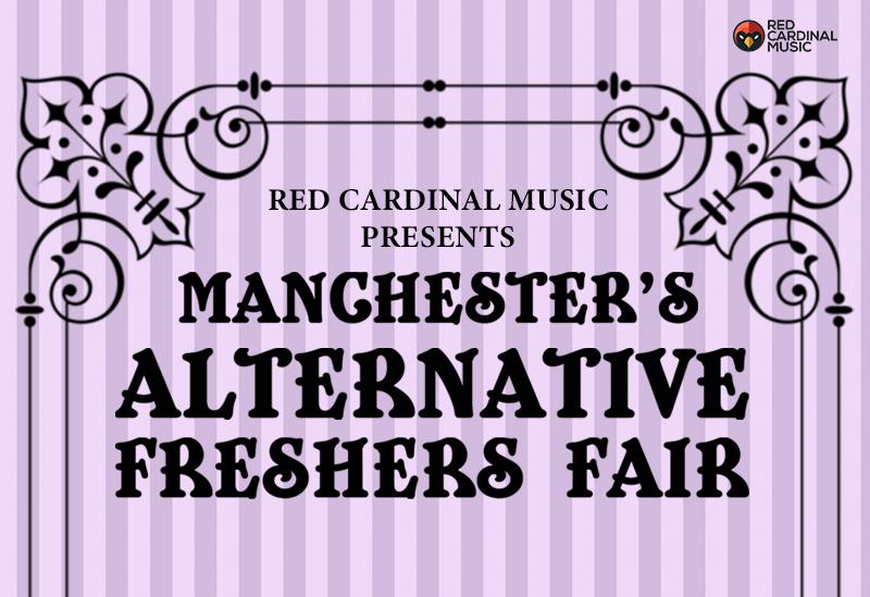 Red Cardinal Music Freshers Fair 2019 - Font Manchester - Red Cardinal Music
