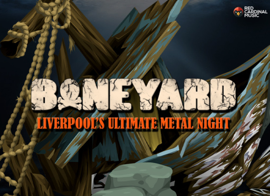 Boneyard - Metal Night - Shipping Forecast Liverpool - Feb 20 - Red Cardinal Music