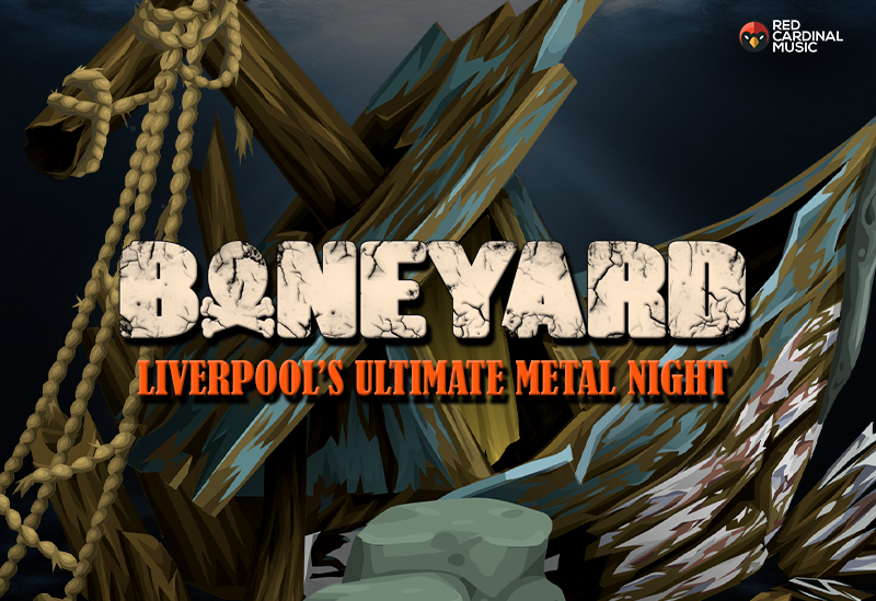 Boneyard - Metal Night - Shipping Forecast Liverpool - Feb 20 - Red Cardinal Music