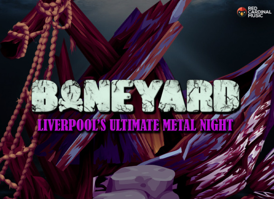Boneyard - Metal Night - Shipping Forecast Liverpool - Jan 20 - Red Cardinal Music
