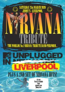 Nirvana Tribute Liverpool Jimmys