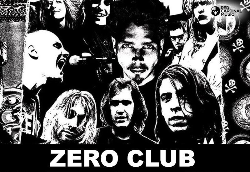 Zero Club Jimmy's Liverpool Red Cardinal Music Nirvana Tribute